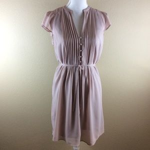 H&M Dusty Rose Lined Dress